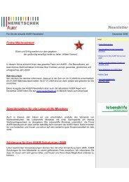 Newsletter - AUER - Die Bausoftware GmbH