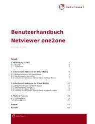 Benutzerhandbuch Netviewer one2one - AUER - Die Bausoftware ...