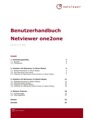 TÉLÉCHARGER NETVIEWER ONE2ONE