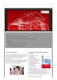 AUER Newsletter 01/2013 - AUER - Die Bausoftware GmbH