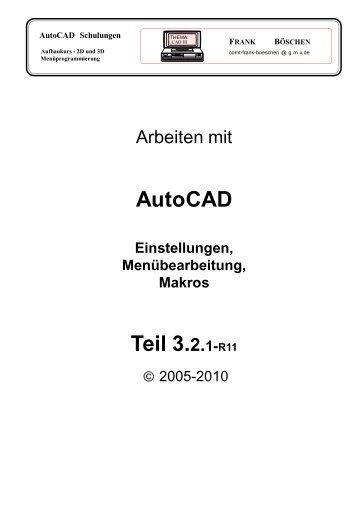 AutoCAD Teil 3.2.1-R11 - VHS-DH.de
