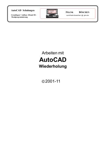 AutoCAD - VHS-DH.de