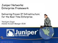 Enterprise Framework: Delivering Proven IP Infrastructure for the ...