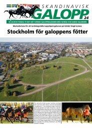 Stockholm för galoppens fötter