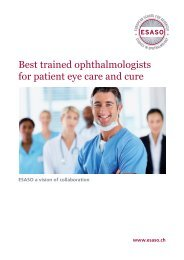 Best trained ophthalmologists for patient eye care and cure