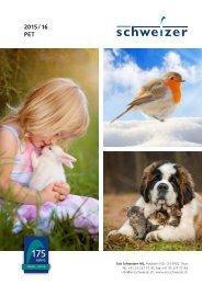 Ericschweizer PET Katalog 2015/16