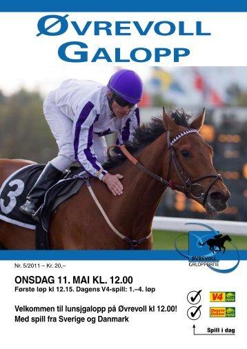 Program 11 mai_komplett.pdf - Øvrevoll Galoppbane