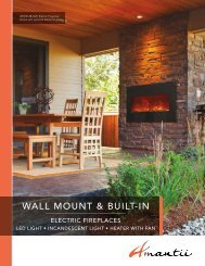 Brochure - Amantii fireplaces