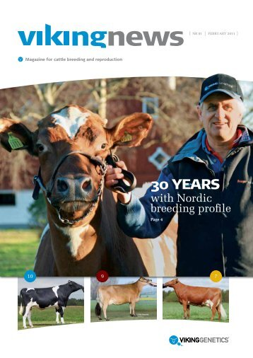 VikingNews - the first newsletter in English - Viking Genetics