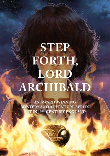 STEP FORTH, LORD ARCHIBALD - Epigram Books