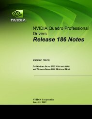 Release 186 Notes - Nvidia's Download site!!