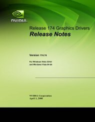 Vista Release Notes - Nvidia's Download site!!