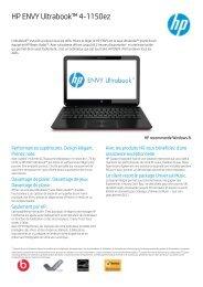 PSG Consumer 3C12 HP Notebook Datasheet - Hewlett Packard