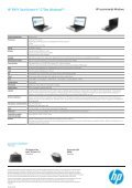 PSG Consumer 1C13 HP Notebook Datasheet - Fruitstore.ch - Page 2