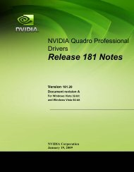 Release 181 Notes - Nvidia's Download site!!