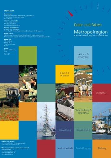 Metropolregion - Metropole Nordwest
