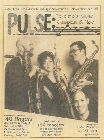 Volume 1 Issue 3 - November 1995
