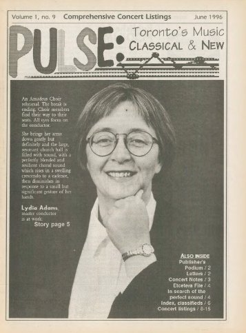 Volume 1 Issue 9 - June 1996