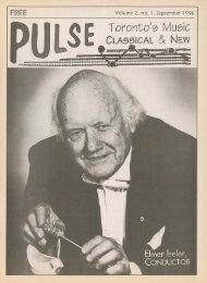 Volume 2 Issue 1 - September 1996