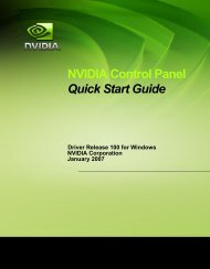 NVIDIA Control Panel Quick Start Guide - Nvidia's Download site!!