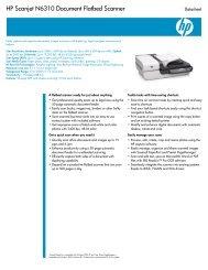 HP Scanjet N6310 Document Flatbed Scanner - Hewlett Packard
