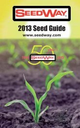 2013 Seed Guide - Seedway