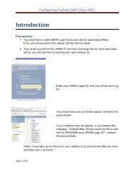 Introduction - UNSW IT