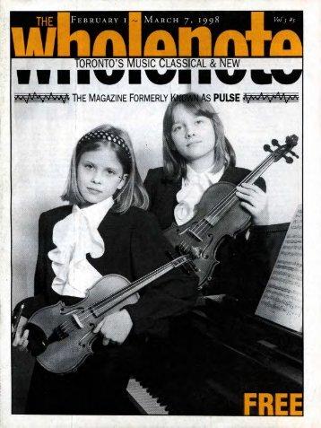 Volume 3 Issue 5 - February 1998
