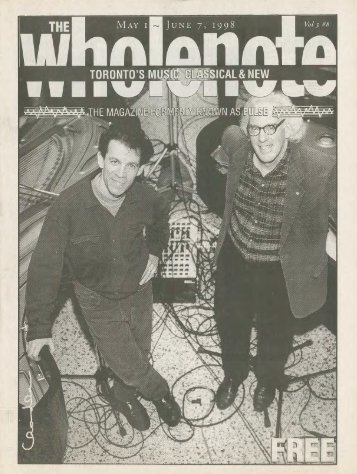 Volume 3 Issue 8 - May 1998