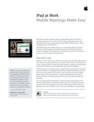 iPad at Work Mobile Meetings Made Easy - Small Dog Electronics