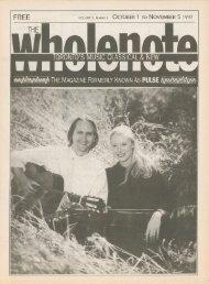 Volume 3 Issue 2 - October 1997