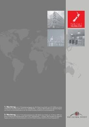 1. Nachtragnach § 11 Verkaufsprospektgesetz der HIH Global Invest ...