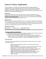 poetry explication worksheet essay  poetry explication   lirvinnet