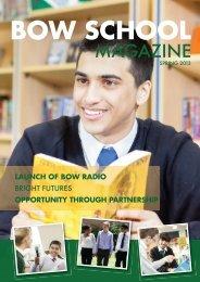 Spring Magazine - Bow School