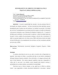 MONITORAMENTO DO AMBIENTE CONCORRENCIAL ... - Fiesc