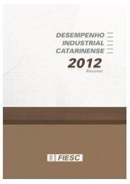 Resumo desempenho 2012 - Fiesc