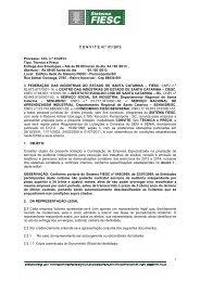1 CONVITE N.º 01/ 2013 Processo: CCL n.º 01/2013 Tipo ... - Fiesc