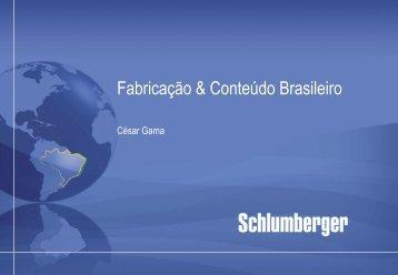 Schlumberger Brazil Strategy - Fiesc