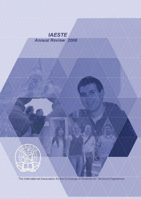 I. 14 AR06 Cover2.ps, page 1-2 - IAESTE