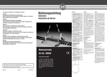 Bahnschranke Art.Nr. 50650 - G Scale News