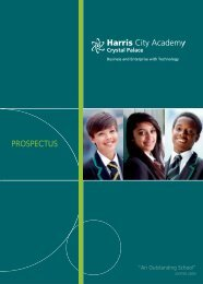 Click here to view prospectus - Harris Federation