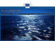 Blue Growth - Technology transfer in the maritime sector – towards ...