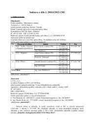 Celé znění smlouvy - z 19.06.2012 - Veřejné zakázky - Ministerstvo ...