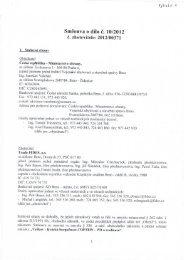 Celé znění smlouvy - z 28.06.2012 - Veřejné zakázky - Ministerstvo ...
