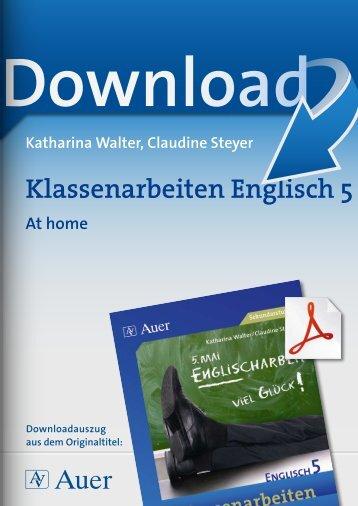 Klassenarbeiten Englisch 5
