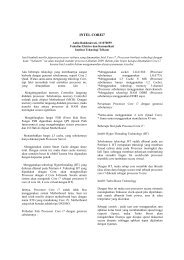 INTEL COREi7 - Paper ITT Telkom