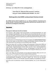 finden Sie die Stellungnahme des BUND Sachsen - BUND Sachsen ...