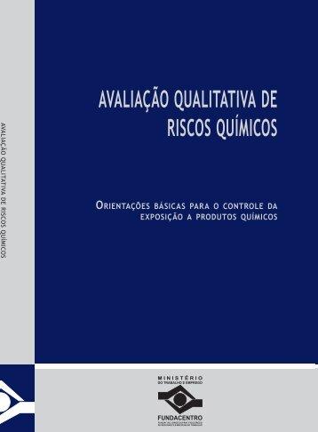 AVALIAÇÃO QUALITATIVA DE RISCOS QUÍMICOS - Renast Online