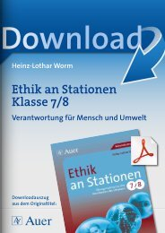 Ethik an Stationen Klasse 7/8