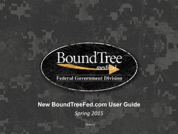 New BoundTreeFed.com User Guide Winter 2012